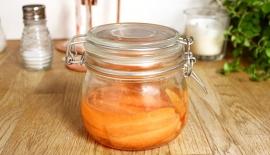 picklade morötter