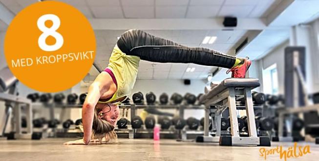 övningar med egen kroppsvikt