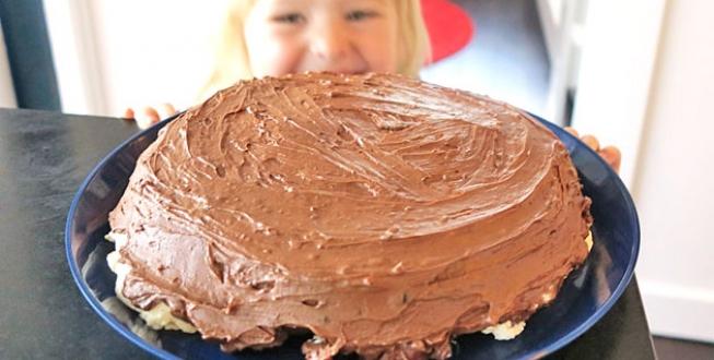 sockerfri chokladtårta