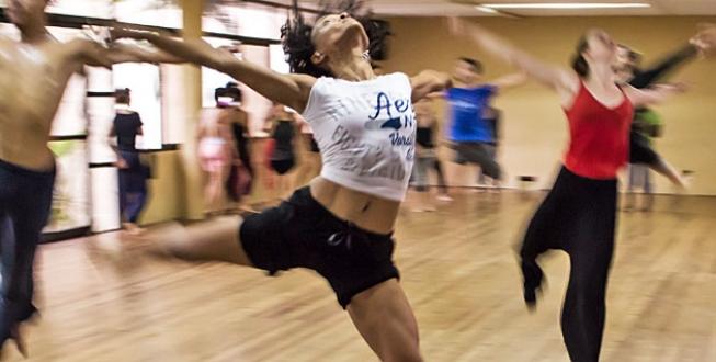 konditionsträning med dans