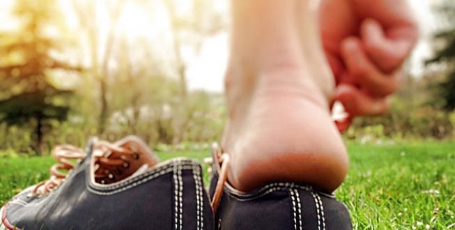 förhårdnader på fötterna