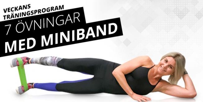 7 övningar med miniband