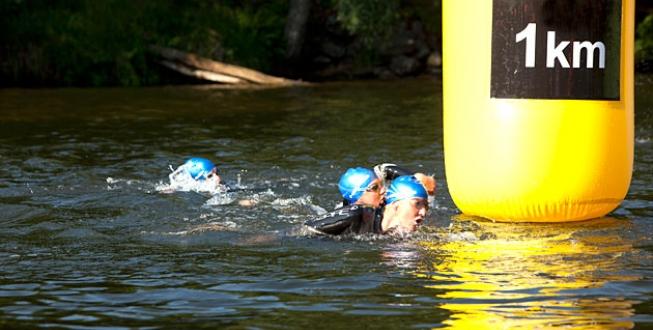 andning vid simning