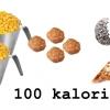 10 vanliga livsmedel - Så mycket får du för 100 kalorier