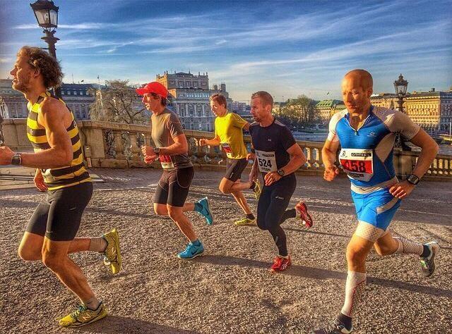 Spring Salomon City Trail först av alla med SportHälsa RunClub