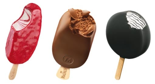 Ät glass i stora lass - men välj rätt