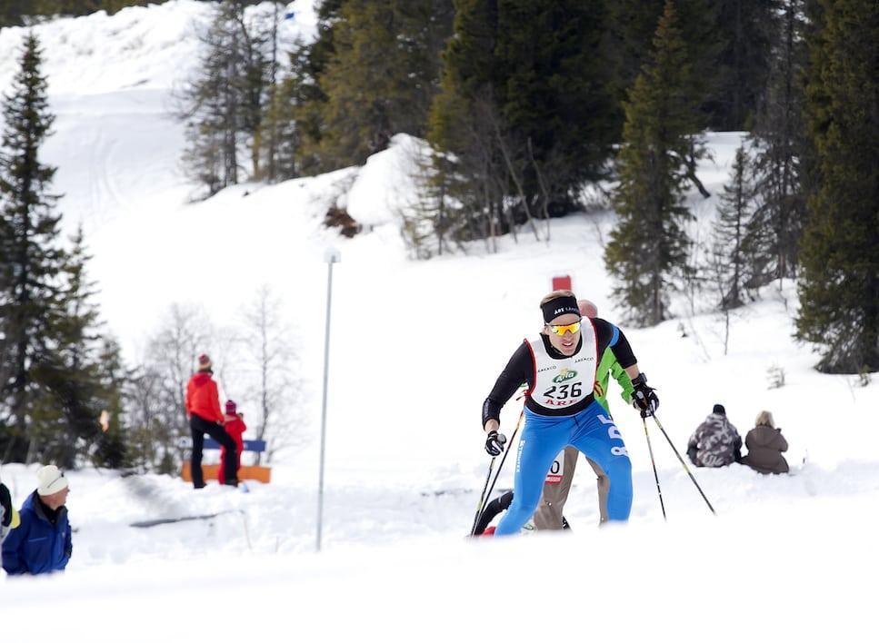 Missa inte Stockholms nya skidtävlingar på Solvalla travbana