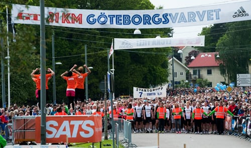 Ett 100-tal platser kvar i Göteborgsvarvet