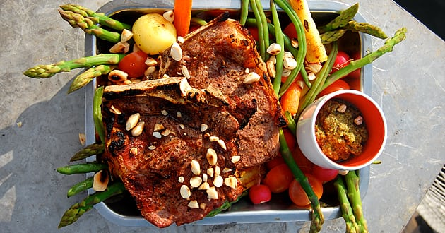Recept: Club Steak med persiljepsto