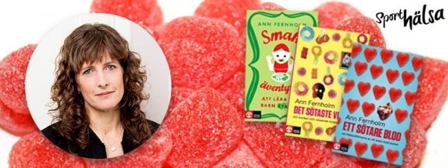 Sporthälsas sockersöta läsarevent: Lyssna på Ann Fernholm – känd för boken Ett sötare blod