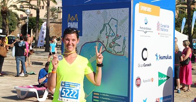 Rapport från Palma halvmarathon