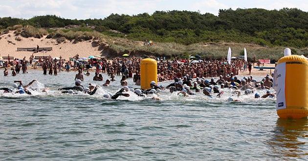 Nu kan alla tävlingssimma i öppet vatten i Tylösand och på Djurgården