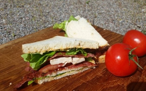 Recept under 500 kalorier – Club Sandwich
