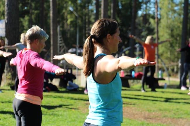 Häng med på träningshelg med stora hälsoinspiratörer