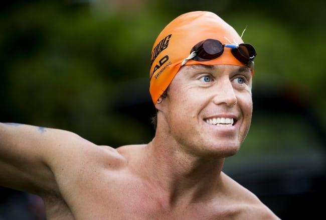 Jonas Colting simmade 64 mil för välgörenhet