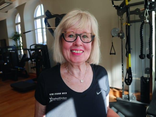 Susanne blev starkare och 16 år yngre när hon började träna