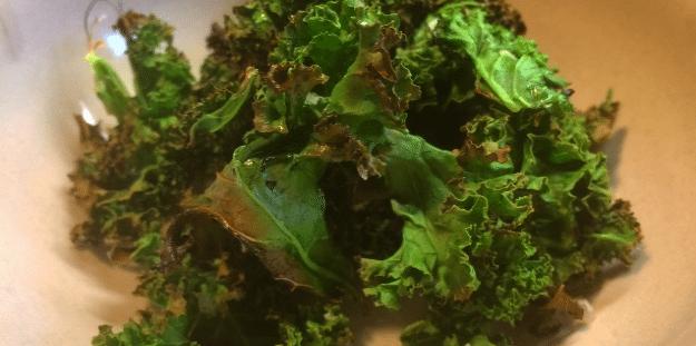 Recept: Grönkålschips