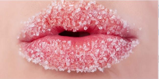 Ät inte socker -– Skrubba dig vacker med det istället!
