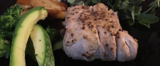 Recept: Sejfilé med rostad potatissallad