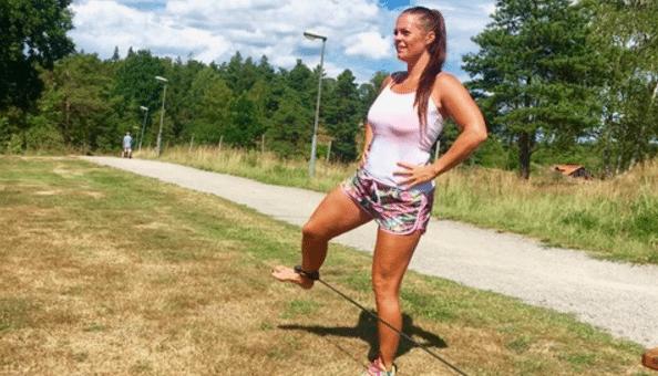 Therese löparskola: Tänk på höften