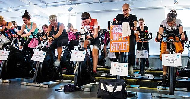 Spin of Hope - Sveriges största spinningevent