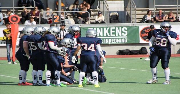 Amerikansk fotboll för damer på uppsving i Sverige