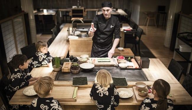 Yasuragi lanserar sushiskola och duobehandling för barn