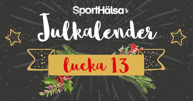 lucka #13 - Julrusch - musik att träna och springa till!