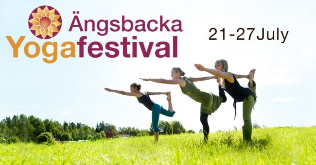 Sveriges största Yogafestival på Ängsbacka 21-27 juli
