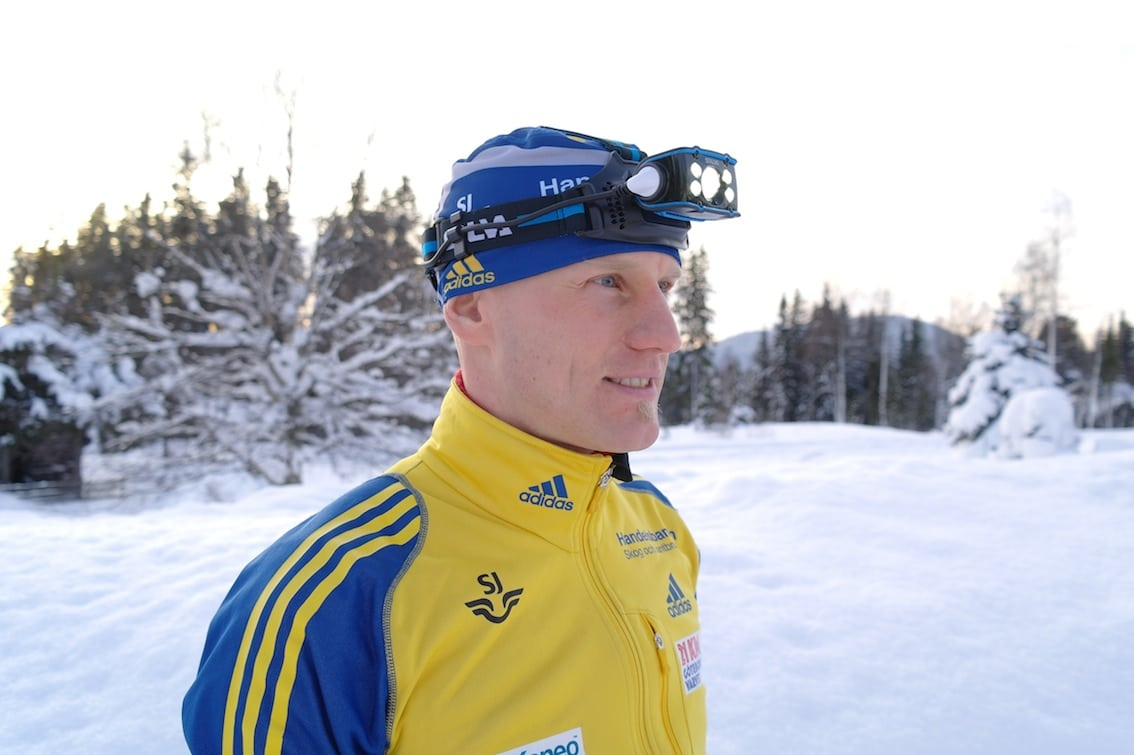 Carl Johan Bergman har lysande sikte på medalj