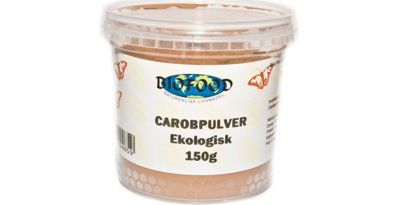 Är carobpulver nyttigt?