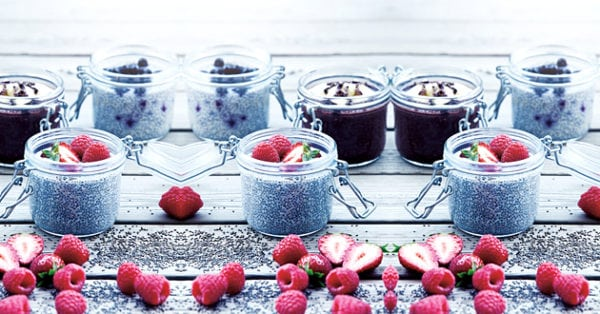 Recept: Chia-chokladpudding
