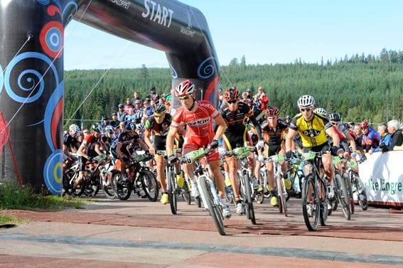 Över 7000 cyklade Cykelvasan