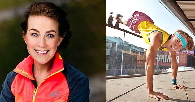 """Träffa Sofia """"PT-Fia"""" Sjöström och ultralöparen Linus Holmsäter"""