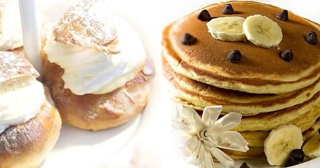 Fettisdagen vs. pannkakans dag