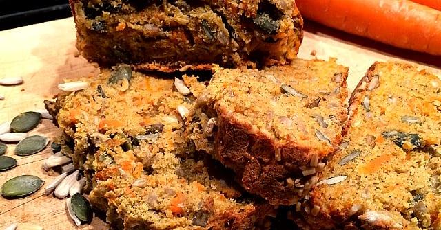Recept: Glutenfritt morotsbröd