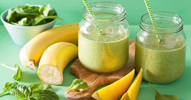 Recept: Gröna vitamindrinkar