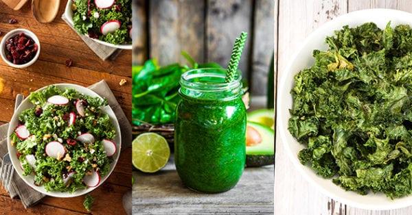 Recept: Gott och nyttigt med grönkål