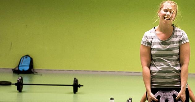 Var femte svensk hatar att träna