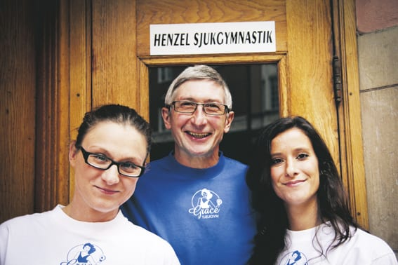 Cezary Henzel - 30 år som sjukgymnast