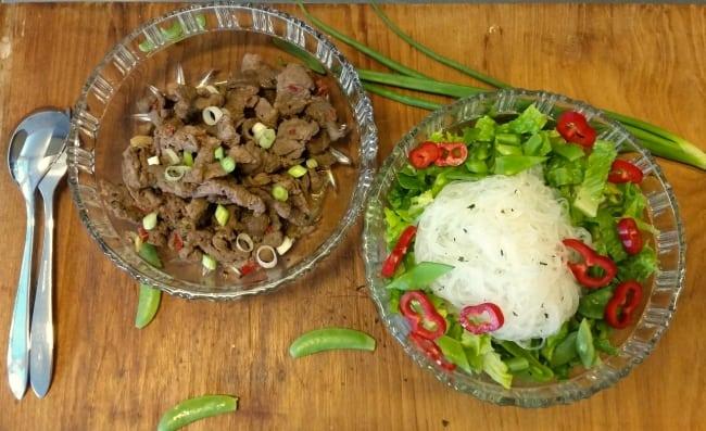 Recept under 500 kalorier – Biffsallad