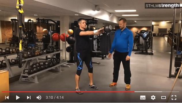 VIDEO. Kettlebell swing – teknik och vanliga misstag