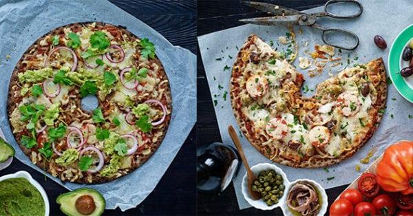 Recept på godaste knäckepizzan