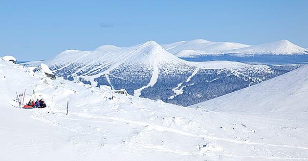 Hemligheten bakom Lofsdalens lavinfria pistar