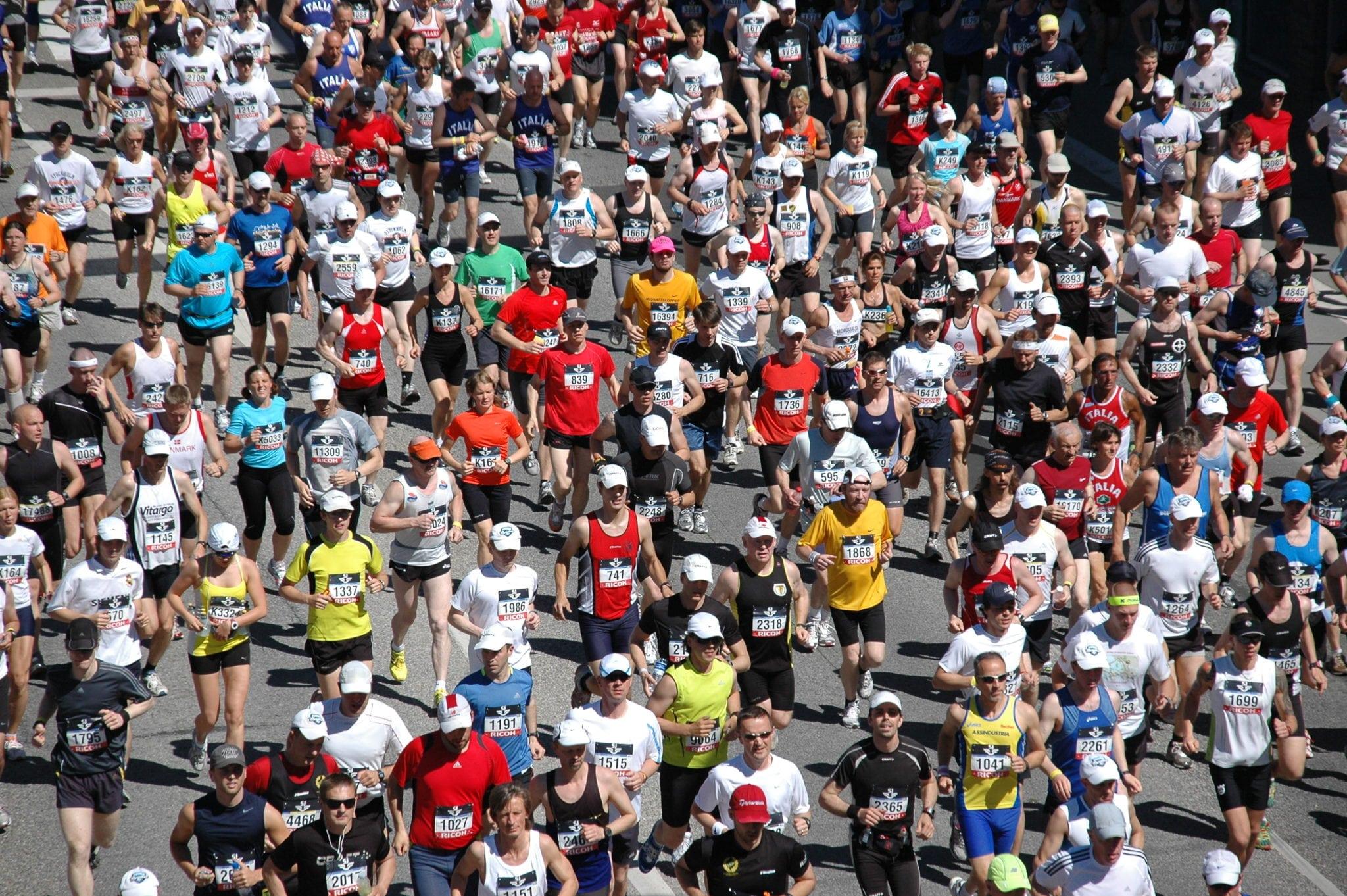 På lördag trängs löparna i Stockholm