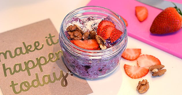 Recept: Overnight oats