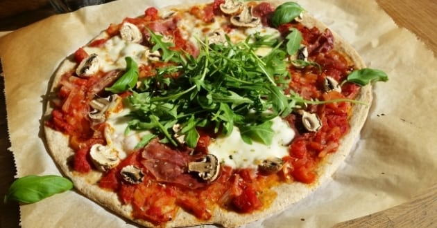 Recept under 500 kalorier – pizza
