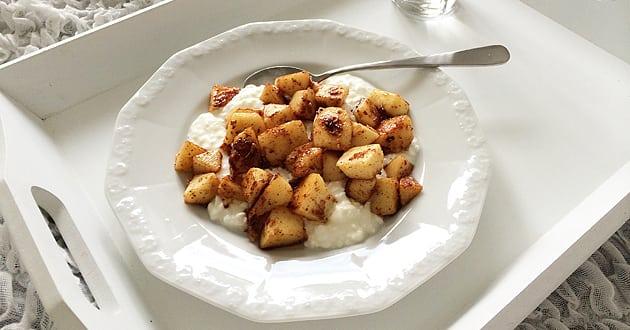 Recept: Äppeldröm till mellanmål