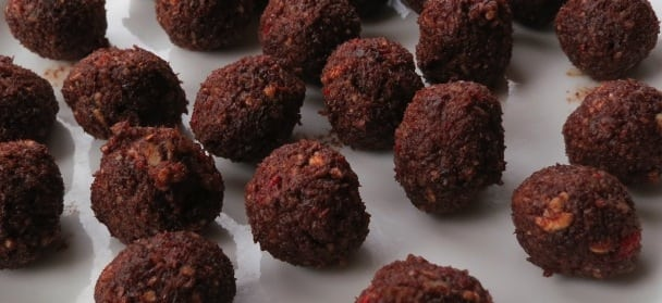 Recept - Raw food chokladbollar