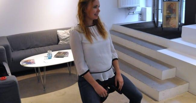 Salli-sittande – det nya kontorsståendet!